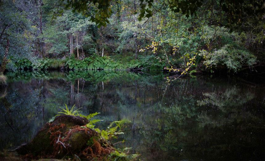 Reportaje fotográfico en el río Mandeo por Aranga de A Coruña