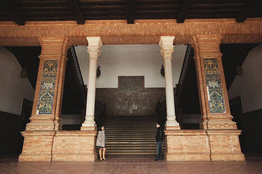 Fotografías de preboda en Sevilla. Fotos de boda en Sevilla.