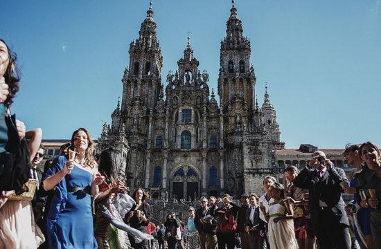 Fotografías de boda en Casa Grande do Bachao de Santiago
